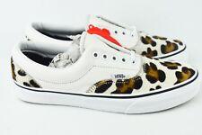 Vans Era Calf Hair Mens Size 8.5 Leopard Skate Shoes