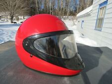 VINTAGE BELL WEDGE YAMAHA FULL FACE SNOWMOBILE HELMET