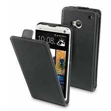 Muvit Slim Elegant Leather Case for HTC One (M7) + FREE SCREEN PROTECTOR  X 50