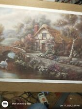 Ashdon cottage essex by carl valente 1991 print