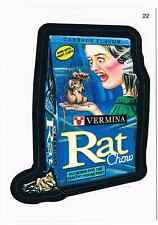 2005 Topps Wacky Packages Series 2 Vermina Rat Chow Trading Card 22 ANS2