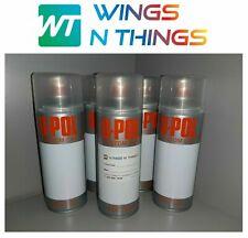 U POL AEROSOL SPRAY PAINT 400ML X5 FOR FORD FROZEN WHITE