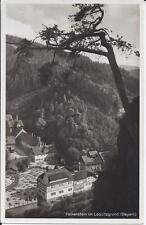 """AK """"Falkenstein im Loquitzgrund (Bayern)"""" 1933 gelaufen"""