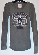 Victoria's Secret PINK Penn State Nittany Lions Long Sleeve Thermal Tee Shirt
