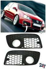 NEUF VOLKSWAGEN VW Golf Mk 5 GTI 2003 - 2009 PARE CHOC AVANT BAS GRILLE Paire