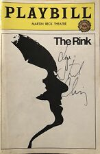 Stockard Channing Signed THE RINK  Broadway Playbill