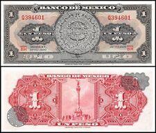 Mexico 1 Peso, 1970, P-59l, UNC, Series-BIH