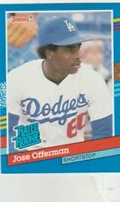 FREE SHIPPING-MINT-1991 Donruss #33 Jose Offerman Los Angeles Dodgers R ROOKIE