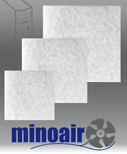 3 Stk. Filter PC Server Drucker Kopierer Schutz Zuluftfilter Grafikkarte Netzt.