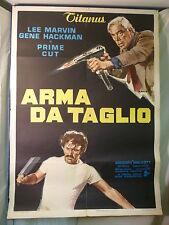 Arma da Taglio manifesto poster Lee Marvin Gene Hackman Ciriello Prime Cut