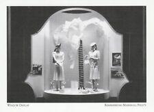 """""""Window Display"""" -Sports Clothes- *Marshall Field's {Postcard}  (XT12)"""