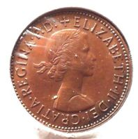 CIRCULATED 1963 1/2 PENNY UK COIN!! (#41615)