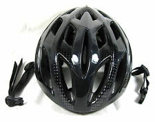 Nishiki Adult Bicycle Helmet Adjustable Head Size LARGE Black Cycling Gear