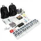 The Essentials Complete Deluxe Survival 72 Hour Kit   4 Person   Black Backpack