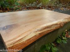 Tischplate Wild Eiche Massivholz  waschtisch auf mas leimholz