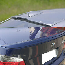 Painted M5 Trunk & A Wing Roof Spoiler 2004-2010 BMW E60 525i 528i 535i 550i 4Dr
