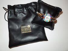 NIP Antica Murrina Veneziana Millefiori 2-Tone Silver/Gold Cuff Watch w/MOP Face