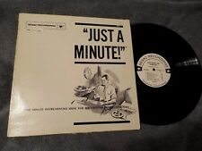 Sesac Recordings Library Music LP Just A Minute PA237/238 RARE Samples