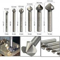 Holzbohrer Flachfräser Flachfräsbohrer 152 mm Satz 6 tlg 10 bis 25 mm Tactix