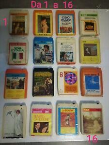 Cassetta stereo 8 artisti vari (leggi bene!)