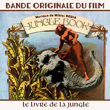 CD Le livre de la jungle (Jungle Book) - Bande Originale du Film - Miklos Rozsa