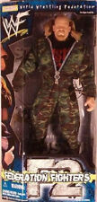 "WWF Exclusive Camo Gear 12"" Federation Fighters Stone Cold Steve Austin MIB"