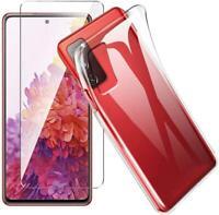 Per Samsung Galaxy A32 5G Custodia Trasparente Anti-urto Gel Cover Cellulare+