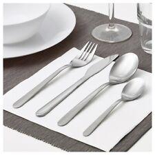 Ikea 16 pieces Stainless Steel flatware set silverware Knife fork spoon MOPSIG