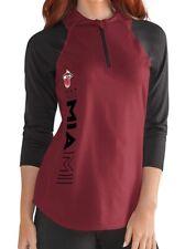G-III Sports NBA Miami Heat Womens Zip It Up 3/4 Sleeve Tee 2XL NEW