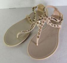 Synthetic Solid Sandals & Flip Flops 8 US Shoe