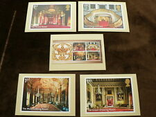 Buckingham Palace m/s 2014, PHQ Stamp Cards, FDI Special H/S Back, Set of 5