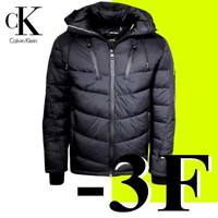 MEN'S CALVIN KLEIN DOWN PUFFER JACKET DUPON WATER RESISTANT FZ HOODED  -3F   2XL