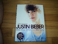 100% Officieal Justin Bieber First Step 2 Forever My Story Autobiography photos
