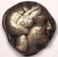 Ancient Athens Greece Athena Owl Tetradrachm Coin (454-404 BC) - VF (Very Fine)!