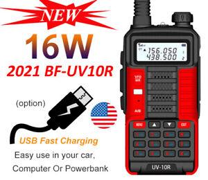 BAOFENG UV 10R TWO-WAY RADIO LONG RANGE WALKIE TALKIE DUAL BAND CB HAM RADIO USA