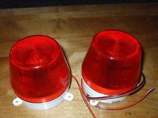 110 volt strobe lights red