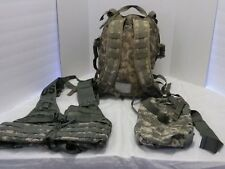 Military-Molle-II-Load-Carrying-Vest-Waist pack-Assault Bundle/Camping/Hunting
