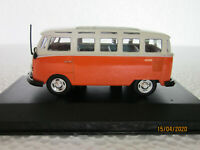 high speed 1/43 scale model car VW bus T1 samba (in near mint condtion)
