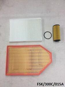 Air, Oil Filter & Cabin filter for Chrysler 300C 3.6L 2011-2013 FSK/300C/015A