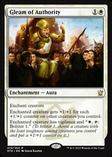 1x Gleam of Authority - Foil MTG Foil NM, English Dragons of Tarkir