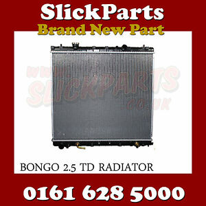MAZDA BONGO RADIATOR 2.5 TURBO DIESEL AUTOMATIC OR MANUAL  95 > 03 *NEW*
