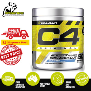 Cellucor C4 STRAW MARGHARITA Flavour ORIGINAL ID Pre Workout Preworkout 60 serve