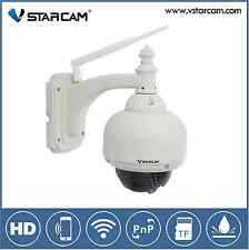 Wireless Wifi Network IP Camera 3 Optical Zoom PTZ Outdoor Waterproof Audio USA