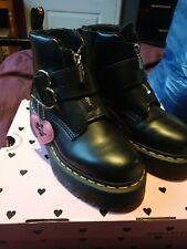 Dr Doc Martens Lazy Oaf Buckle Boot 5 worn once