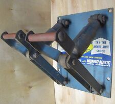 Old MONRO-MATIC SHOCK ABSORBERS Repair Shop Auto Parts Store Display Advert Sign