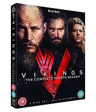 VIKINGS COMPLETE SEASON 4  DVD BOX ENGLISCH