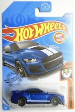Hot Wheels 2020 Q Case 2021 A Case New for 2020 Ford Mustang Shelby Gt500 Blue