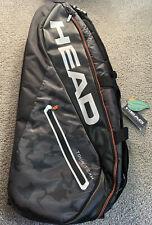 Head Tour Team 9R Supercombi Tennis Bag - Black / Orange