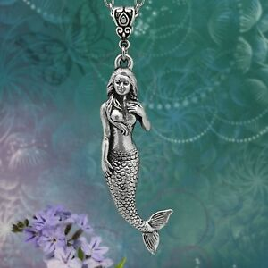 Mermaid Necklace, Intricately Detailed and Beautifully Sculpted