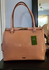 NWT! KATE SPADE Constance Knightbridge Bag in Warm Vellum large with dust bag